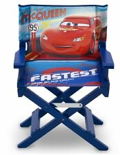 Delta Children Blue Disney Pixar Cars Childs Wooden Directors Chair