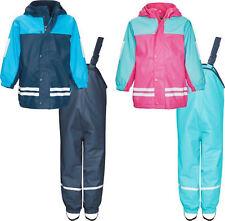 Playshoes Regen-Anzug mit Fleece-Futter Polyester beschichtet Ökotex 100