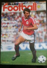 FRANCE FOOTBALL 28/10/1986; Spécial Europe; Benfica, Tarantini, Real, Juve