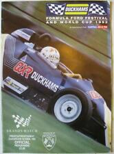 BRANDS HATCH 23/24/25 Oct 1992 Formula Ford Festival A4 Official Programme