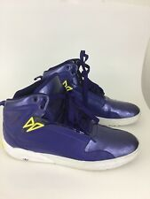 Adidas the roundhouse mid 2basketball shoespurple ,white and  prime yellow