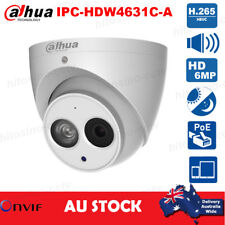 Dahua IPC-HDW4631C-A HD 6MP Built-in MIC Metal Home Security CCTV PoE IP Cameras