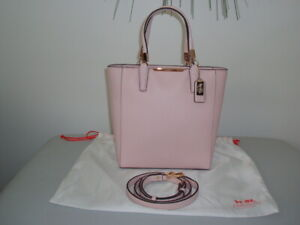 COACH PINK MADISON MINI NORTHSOUTH TOTE **BRAND NEW**