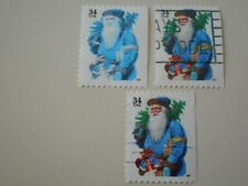 2001 34c Santa Claus Color Oddity Used