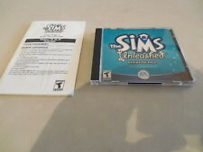 The Sims: Unleashed Expansion Pack (2 Disc, PC, 2002 EA Games) w/ guide