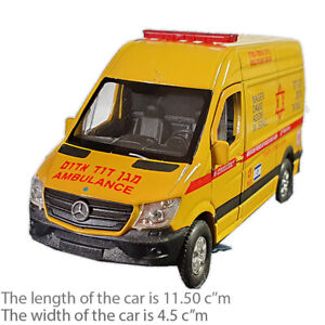 Israel Magen David Adom intensive care Mercedes Sprinter Panel Van Ambulance Toy