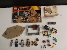 Lego Indiana Jones 7625 Set Jungle Duel Kingdom of the Crystal Skull, Manual