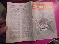 Livret Agricole CHANTECOQ de l'Elevage Avicole 1958 Coq Poule Volaille