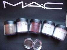 Mac cosmetics Pigment- Reflect Samples-Set , 5 STÜCK a 0,4 Gramm, LE`s, RAR!