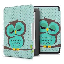 kwmobile Flip Tasche für Kobo Glo HD (N437) Touch 2.0 Eule Schlaf Kunstleder