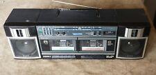 Used Sony CFS-W360 Dual Cassette Tape Deck w/ AM/FM Radio Portable Boombox