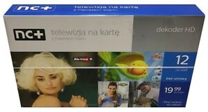 POLSKA TELEWIZJA NA KARTE HD MIX DEKODER 12 MIESIECY Z PAKIETEM START