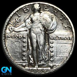 1924 S Standing Liberty Quarter  --  MAKE US AN OFFER!  #K8740