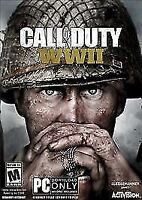 Call of Duty: WWII (PC DOWNLOAD ONLY, 2017) NEW