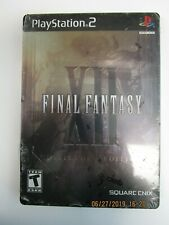 FINAL FANTASY XII - COLLECTORS EDITION GAMESTOP - PS2 - BRAND NEW, SEALED!!
