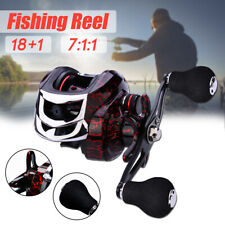 18+1 BB ing Reel Reels Bass Low Profile Magnetic Braking System Casting  .☆a