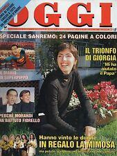 Oggi 1995 10.Giorgia Todrani,Stephanie di Monaco,Sophia Loren,Lady Diana Spencer