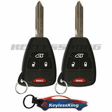2 Replacement for Dodge Charger - 2006 2007 4b Keyless Entry Car Fob Remote