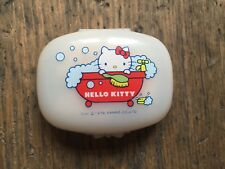 Vintage Sanrio Hello Kitty 1976 Soap In Plastic Case