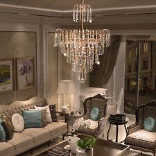 Elegant Crystal Decoration Chandelier Luxury Fixture Pendant Ceiling Lamp