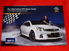 "OPEL Astra H OPC ""Race Camp"" Sondermodell Prospekt von 2009"
