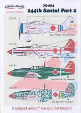 "Lifelike Decals 1/72 JAPANESE 244TH SENTAI Ki-61 ""Tony"" & A5M ""Claude"" Part 2"