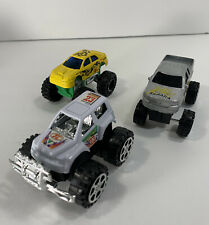 Lot of 3 Monster Trucks Plastic Unbranded