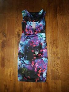 BNWT LADIES DEBENHAMS COAST DRESS UK SIZE 8 REF BOX  A1