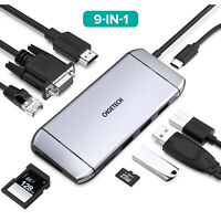 CHOETECH For MacBook Pro/Air/iMac/Dell XPS 13/ USB C 3.1 Type C Hub HDMI Adapter