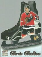 1997-98 Pacific Crown Royale Blades of Steel #4 Chris Chelios Chicago Blackhawks