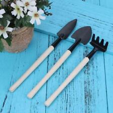 3pcs/set Gardening Tools Mini Shovel Harrow Spade for Potted Plant Flowers HY#U