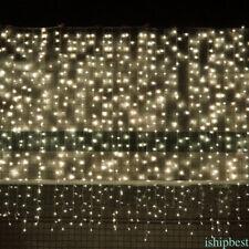 304 LED Window Curtain Light String Fairy Lamp Wedding Party Decor Fantastic IT1