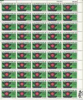 ORLEY US STAMPS # 1272 US Postage Stamps Sheet STOP TRAFFIC ACCIDENTS MNH/OG,