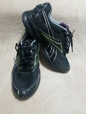Reebok Black Running Shoes Easy Tone Non Marking Outsole Mens Size 10