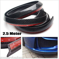 Carbon Fiber Car Front Bumper Quick Lip Splitter Body Spoiler Skirt Protector