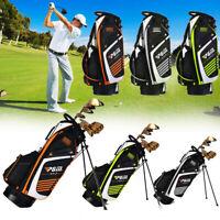 Pro Top Divider Freien 14 Pocket Golf Club Standtasche Trage Dual Strap 3 Farbe