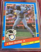 Ken Griffey Jr. 1991 Donruss All-Star Card # 49, Seattle Mariners, MLB HOF'er
