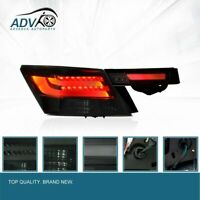 Left +Right BLACK Smoke LED Tail Light for Honda Accord CP 2008-2012 Plug & play