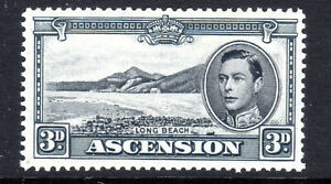 Ascension Islands 3d  P131/2 SG42a  MLH Cat 20+ KGVI [A280721]