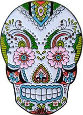 3994 Lace Sugar Skull Dia de los Muertos Day Dead Enamel Pin Badge Button Lapel