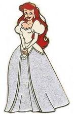 Ariel Little Mermaid Disneyland Hong Kong Glitter Bride Disney Pin On Card