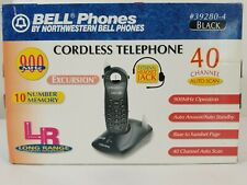 Bellsouth 39280-4 900MHz Cordless Phone w/ 40 Channel Autoscan, Black New