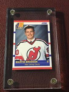 1990 Score NHL Hockey Rookie Martin Brodeur New Jersey Devils Hall of Famer #439