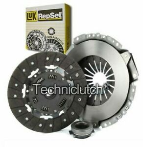 LUK 3 PART CLUTCH KIT FOR FORD GRANADA SALOON 2.8I