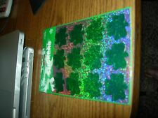 St. Patrick's Day Stickers (12) Self-Adhesive Stickers (GREEN SPARKLES)