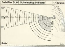 ROLLEI ROLLEIFLEX SL66 SCHEIMPFLUG INDICATOR f=120mm