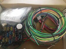 EZ Wiring 21 Standard Color Wiring Harness Kit Chevy, Mopar, Ford, Hotrods.