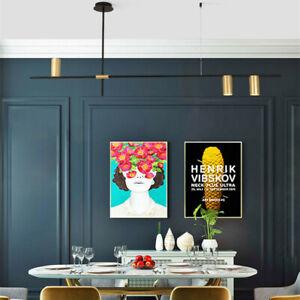 Modern Kitchen Pendant Lighting Gold Bedroom Chandelier Light Bar Ceiling Lights