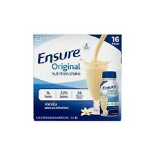 Ensure Original 8 Oz Vanilla Flavor Nutrition Protein Shake - Pack of 20
