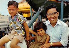 Br45118 Pacifique Iles Gilbert type de familie evoluee enfants children folklore
